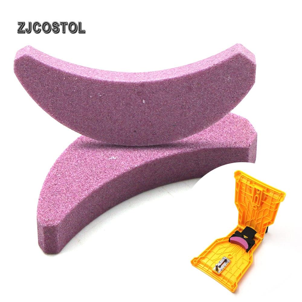 ZJCOSTOL Chainsaw Teeth Sharpener Grinding Chain Stone Grinding Chain Sharpening Tool Whetstone Saw Chain Sanding Stone