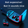 TWS Bluetooth Earphones with Microphone Touch Control Wireless Headphones HIFI Mini In-Ear Earbuds Sport Running Heasets HD Call