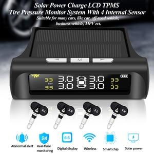 Solar Power Car Tire Pressure