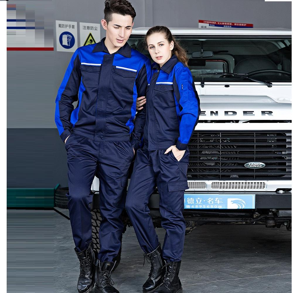 Work Clothing Set Men Women Overall Work Car Workshop Air Condition Water Electricity Installation Mechanical Repairmen Uniform