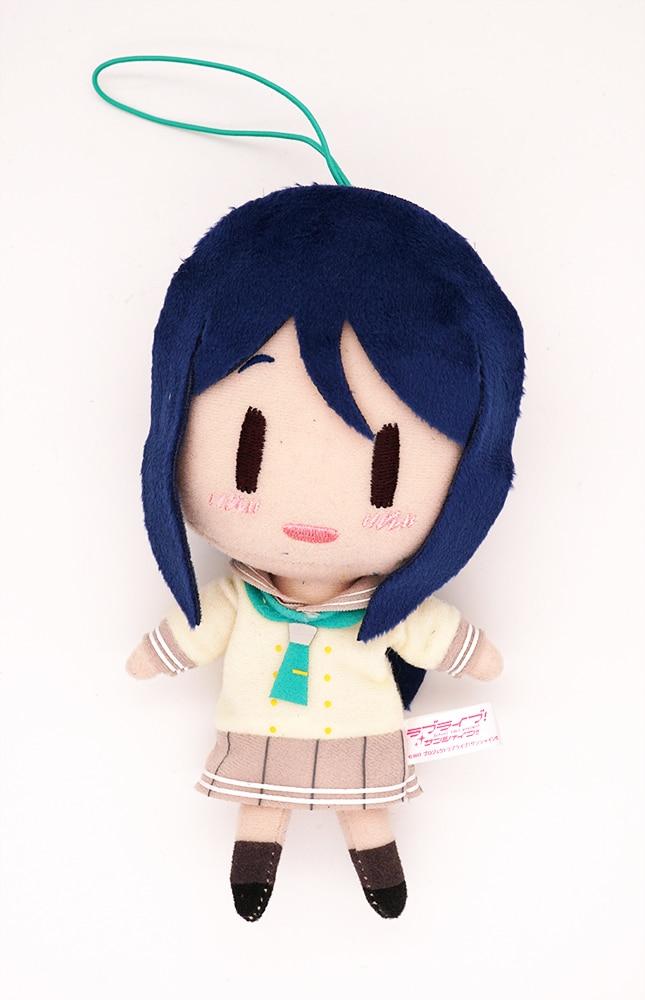 Love Live Lovelive Sunshine Anime Aqours Kanan Matsuura School Uniform Plush Doll Hanging Keychain Toy