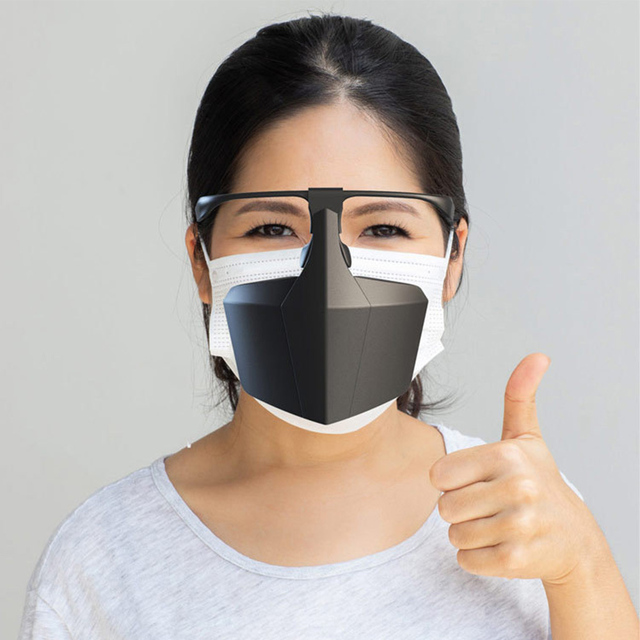 Reusable Face Shield Protective Facial Mask Anti Fog Droplets Saliva Anti-Splash Dust Isolating Face Visiere protection Visor 2