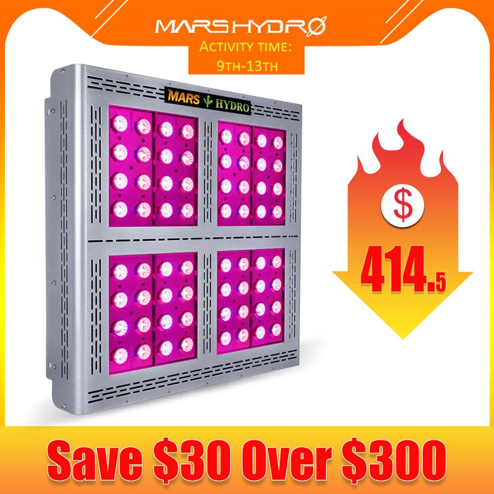 Mars Pro II 1600W Epistar LED Grow Light Full Spectrum Lamp Veg Flower Growing Hydroponics System For All Plants Medical Plants