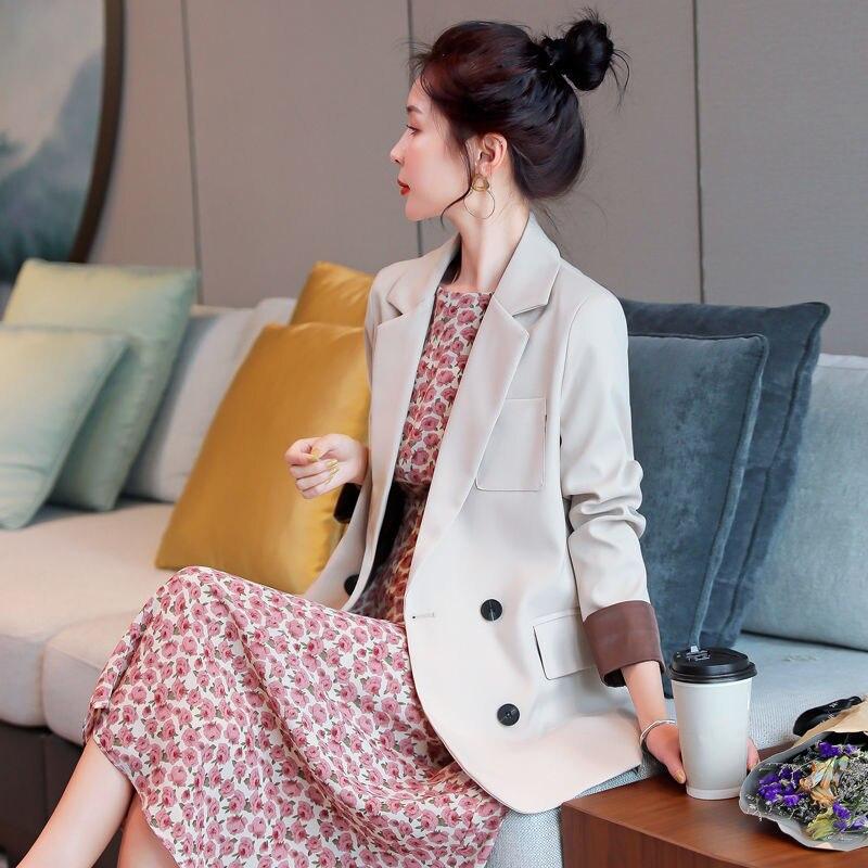 Small Suit Jacket Women's Autumn 2020 Korean-Style British-Style Casual All-match Blazer