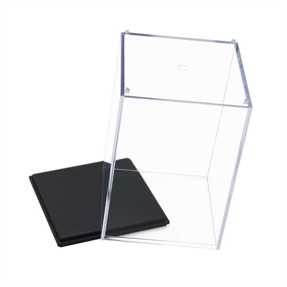 Odoria 9,6x9,6x14,8 cm Caja Transparente de Acrilico Perspex a prueba de polvo para modelos de figuras de acción barcos de béisbol de EE. UU. AU ES EU