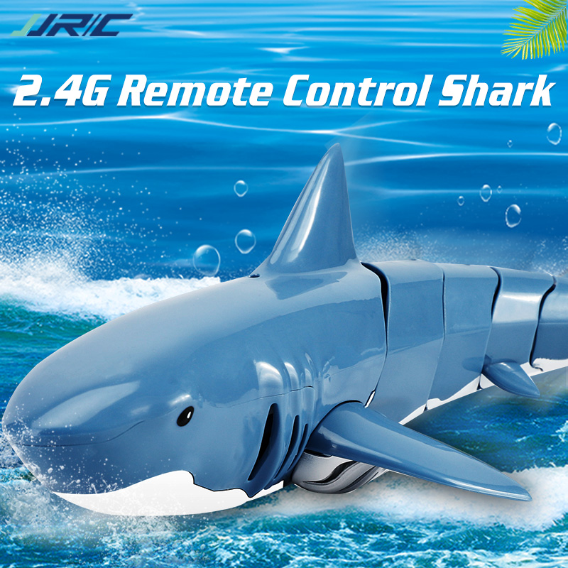 Jouets de Simulation de requin RC, télécommande électrique étanche, 2.4G, 4ch, bateau, piscine, salle de bain, jouets pour enfants, cadeau