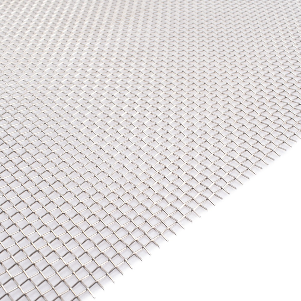 Mayitr 1pc 304 Stainless Steel Mesh 8 Mesh Wire Cloth Screen 30cmx60cm For Cooking Nets