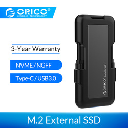ORICO الخارجية وسيط تخزين ذو حالة ثابتة/ القرص الصلب 1 تيرا بايت SSD 128GB 256GB 512GB M.2 NVME SSD NGFF SSD المحمولة SSD الصلبة محرك الحالة مع نوع C USB 3.1