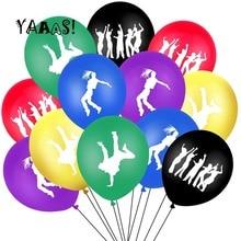 Latex Balloons Graduations Birthdays 90s Weddings for 80s Hip-Hop Retro Street Dance-Theme