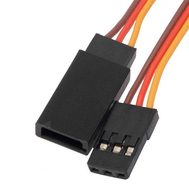 Фото 5 шт 150 /200/ 300 / 500 мм сервоудлинитель кабель для rc futaba