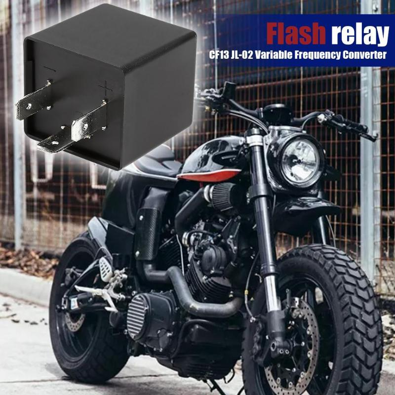 CF13 JL02 EP35 3 Pino Ajustável Turn Signal Flasher Relé LED Fix Hiper Flash Evitar Flash e Característica à prova de Explosão