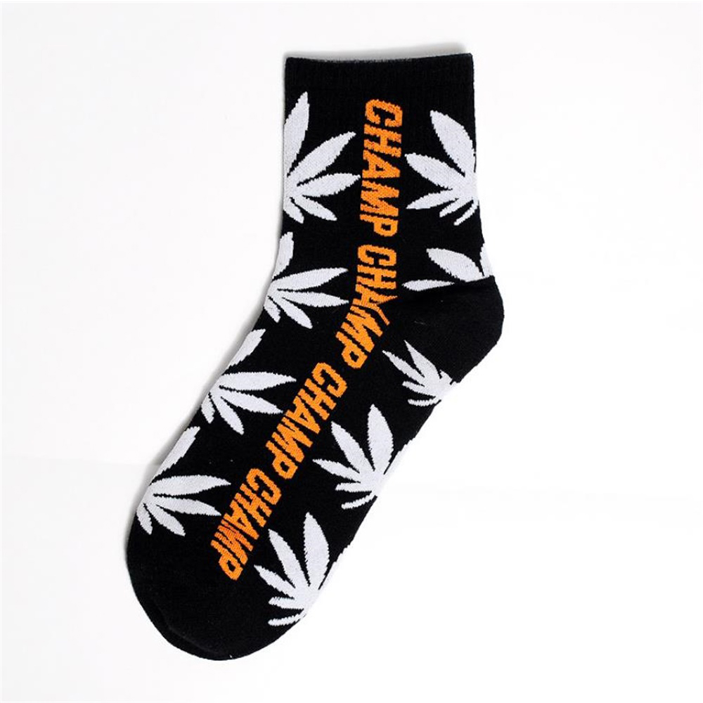 New Socks Cotton Cartoon Pattern Fun Socks Street Funny Trend Unisex Cotton Socks College Style Personality Middle Tube Socks