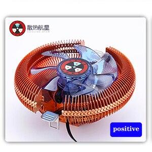 CPU Kühler Kühlkörper Ruhig Fans Für Intel LGA775 1155 1156 PC Computer Mainboard Prozessor Lüfter kupfer überzogene version
