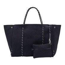 Luxury Women Tote Ladies Handbag Crossbody Large Shopping Neoprene Bag