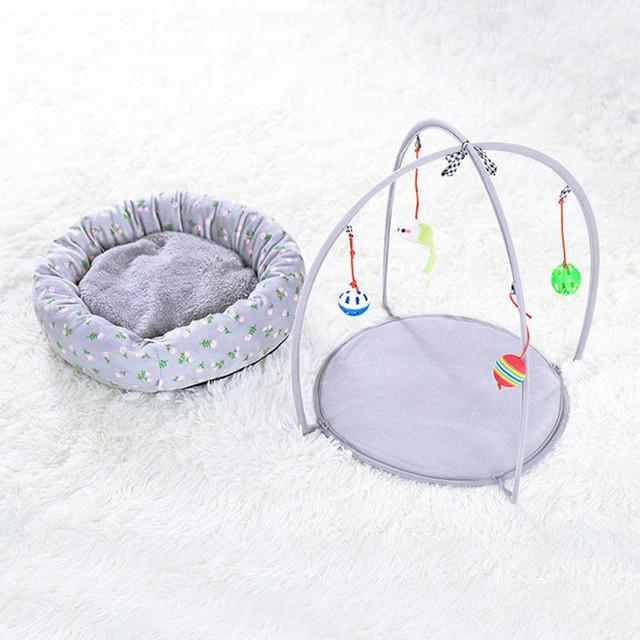 Portable Pet Cat Toys Funny Cat Tent Toys Mobile Activity Pets 4
