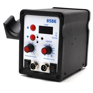 Image 3 - Yarboly 8586 SMD BGA Rework Solder Station Hot Air Blower Heat Gun Hair Dryer Soldering Hairdryer Desoldering Tool