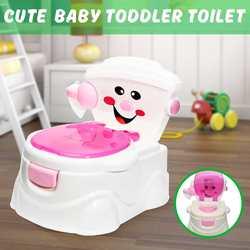 Детский горшок, новый детский горшок, тренировочное сиденье, детский туалет с рисунком панды, детский туалет, тренажер для кровати, портатив...