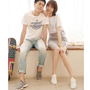 Image 3 - Xiaomi Mijia Youpin ULEEMARK Lightweight Walking Couple Casual Shoes Flying Woven Upper One piece Sock Breathable Fashion Man