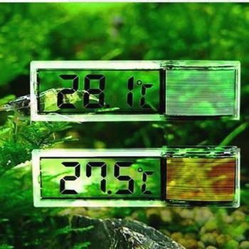 Gorąca sprzedaż wielofunkcyjny LCD 3D cyfrowy elektroniczny pomiar temperatury akwarium miernik temperatury akwarium termometr Accessorie tanie i dobre opinie CN (pochodzenie) Other DHT289 Up to 0 1 Degree A body thermometer aquarium t Convenient and simple to use Aquarium Fish Tank