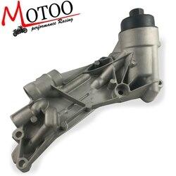 Chłodnica oleju silnikowego i zespół filtra Aluminium dla Cruze Sonic Aveo G3 Orlando Opel Vauxhall Astra 93186324 55353322 12992593