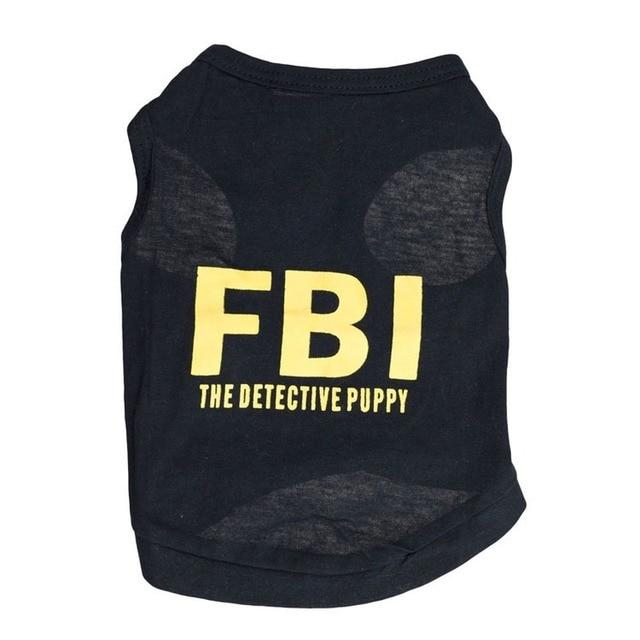 FBI Dog Vest 1