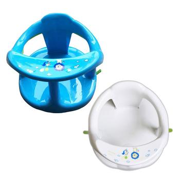 Nowe krzesełko do kąpieli dla dzieci z oparciem wsparcie 4 szt Przyssawki stabilne siedzisko do kąpieli dla dzieci do wanny i prysznica krzesło bezpieczeństwa dla dzieci tanie i dobre opinie CN (pochodzenie) Z tworzywa sztucznego Stałe Baby Bath Seat 10-12 M PP+TPR