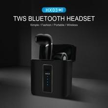Bluetooth Earphone Headset Power-Bank HX03 TWS Earbuds Stereo Sport No Wireless