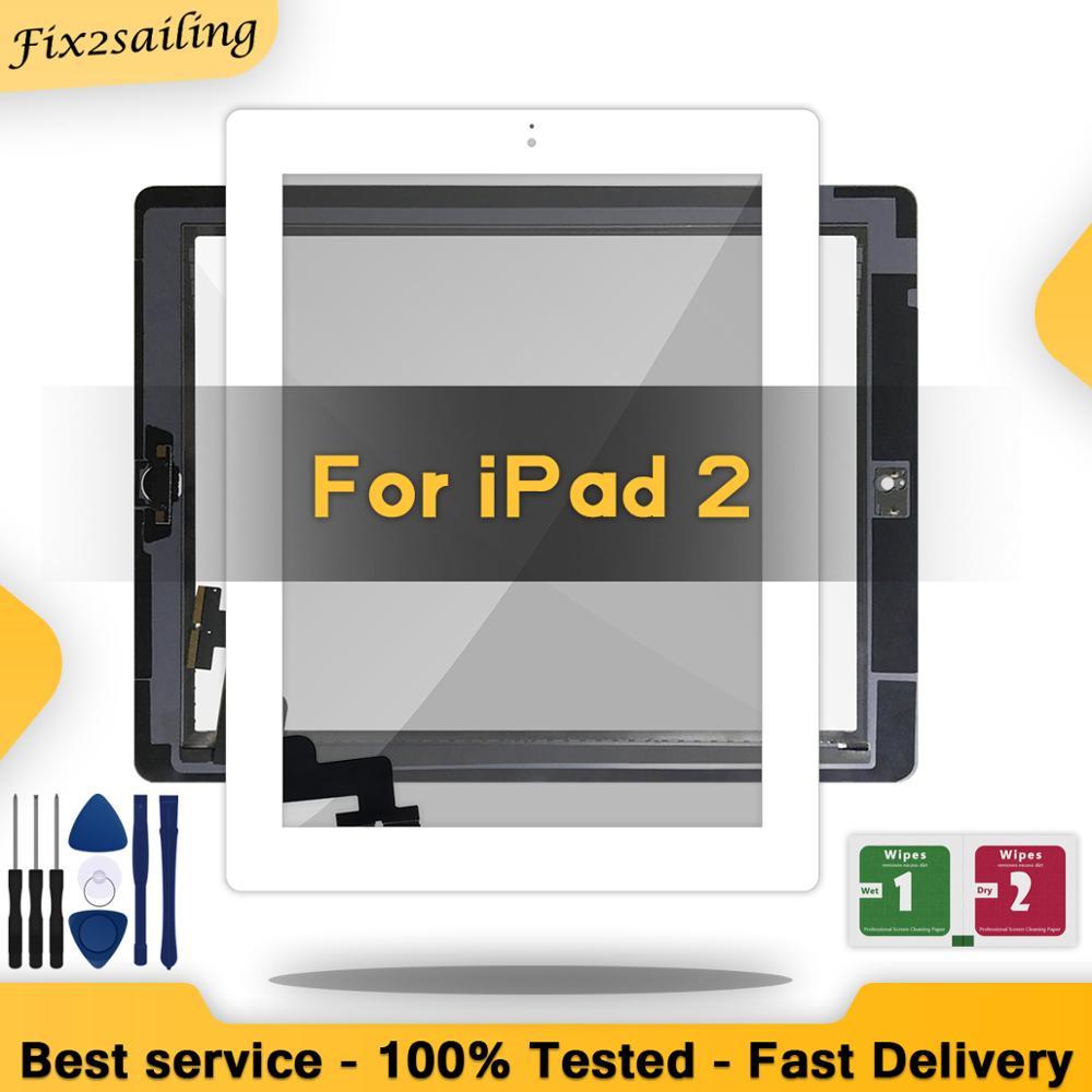 Внешнее стекло для iPad 2 Сенсорный Экран iPad2 дигитайзер A1395 A1396 A1397 сенсорный дигитайзер с/без ключа|ЖК-экраны и панели для планшетов|   | АлиЭкспресс