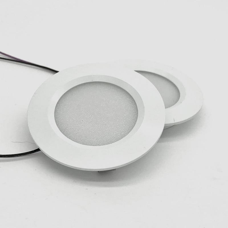 3W 12V Slim 14mm 2inch Mini LED Downlight CE Ceiling Deck Embedded Lighting For Wall Reading Lamp