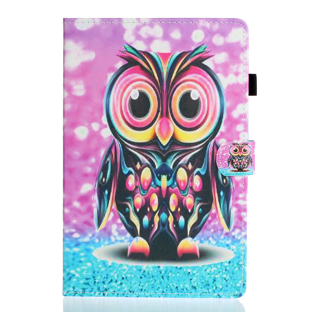 as photo Navy Blue Cute Case For iPad 10 2 Case 2019 Tablet Cover For iPad 10 2 7th Generation