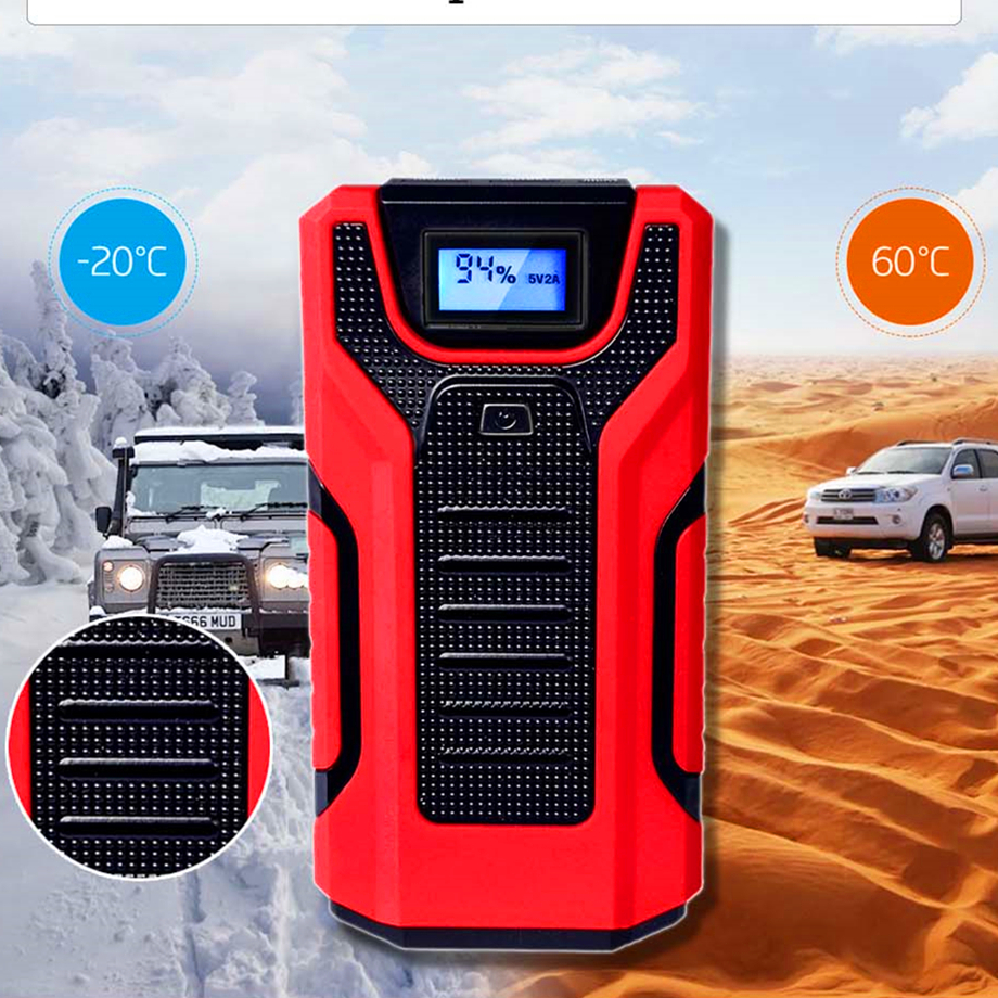 cheapest GkFLY Car Jump Starter 1200A Emergency Booster  Starting Device Portable Charge Auto Battry New Power Bank LED SOS 12V