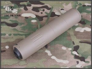 Image 5 - 2019 كبيرة التنين AAC M4 2000 كاتم الصوت ديلوكس CNC و اطل بأكسيد عملية