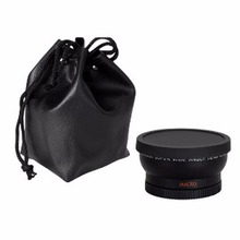58MM 0.45x Wide Angle Macro Lens for Nikon D3200 D3100 D5200 D5100 цена и фото
