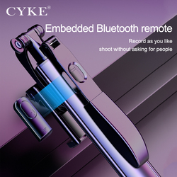 Genuine CYKE A21 Selfie Stick Phone Stand Tripod Selfie Stick Bluetooth Light Suitable for Apple Huawei Samsung and Xiaomi Phone