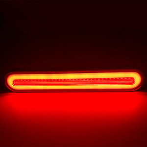 Image 4 - 2x LED Trailer Truck Brake Light 3 in1 Neon Halo Ring Tail Brake Waterproof Stop Turn Light Sequential Flowing Signal Light Lamp