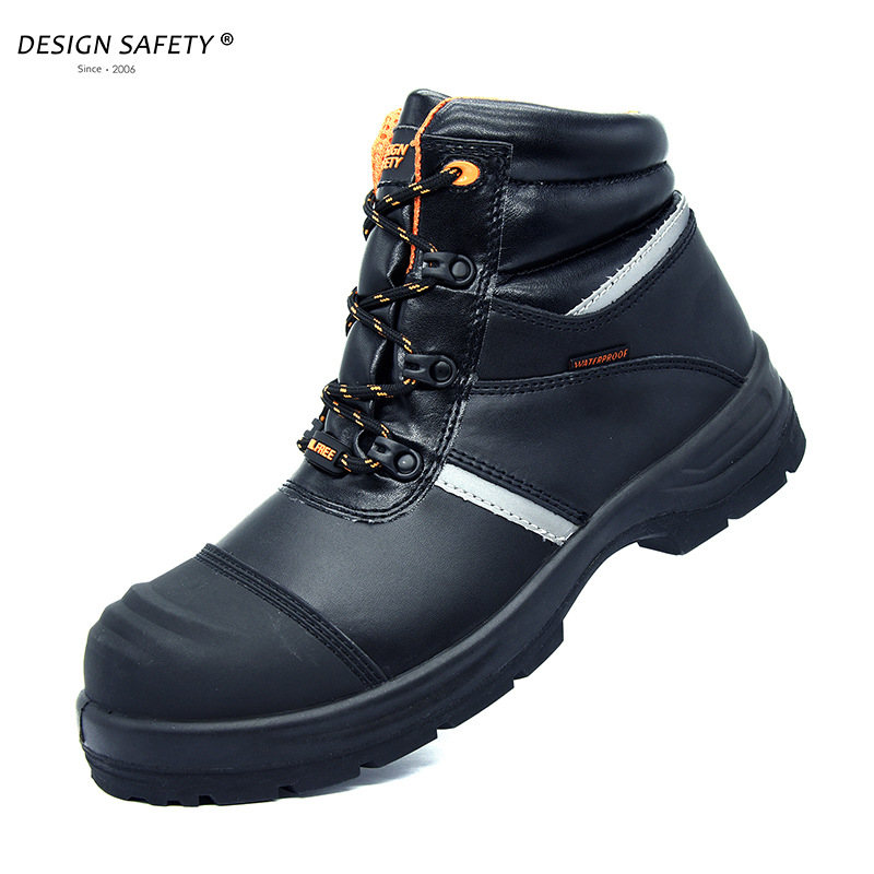 Cross Border Smashing Stab Anti-static Shoes Foot Protection Safety Shoes High-temperature Resistant 300-Degree Welders Safety S