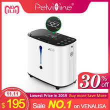Pelvifine Oxygen Concentrator 1-6L/min Adjustable Portable Oxygen Machine Home Travel Use oxigeno medicoe AC110-220V Humidifiers - DISCOUNT ITEM  20% OFF All Category
