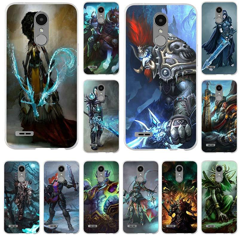 Чехол для телефона World Of Warcrafts Lich King Stormrage из мягкого ТПУ для LG G2 G3 Mini G4 G5 G6 K4 K7 K8 K10 2017 V10 V20 V30 Nexus 5X