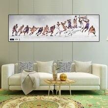 Баскетбольная звезда Коби Мемориальный постер классический slam