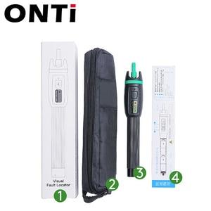 Image 2 - ONTi High Quality Visual Fault Locator 1mW 10mW 20mW 30mW Red Light Fiber Optic Cable Tester 5 30KM Range