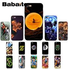Babaite Dragon Ball Z Super DBZ Goku модный окрашенный чехол для телефона для iPhone 8 7 6 6S Plus X XS MAX 5 5S SE XR 11 11pro 11promax(China)