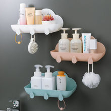 Creative toilet rack wall-mounted bathroom toilet toilet free punch sink bathroom storage shelf bathroom shelf  wall shelf