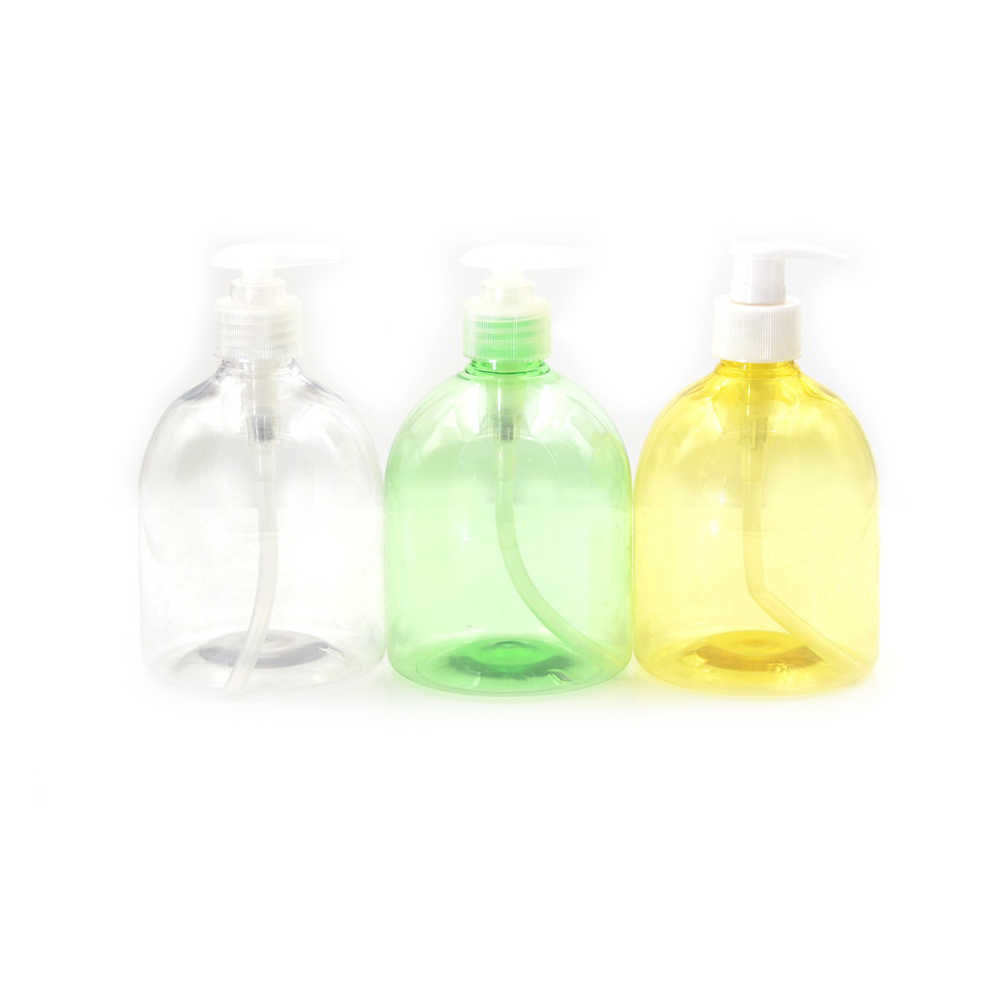 500ML Bottiglie vuote di Plastica Bagno di Sapone Liquido Dispenser Schiuma Pompa A Mano Shampoo Contenitori Lozione Detergente