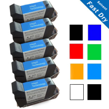Een Niveau 12.7Mm JS12 Compatibel 3S Quick Dry Eco Solvent Handheld Hand Jet Inkjet Printer Inkt Cartridge