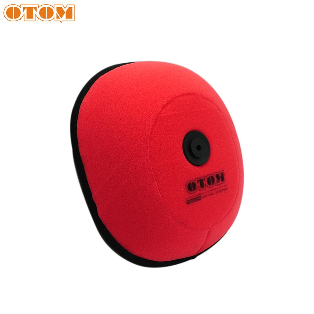OTOM For KTM Motorcycle Air Filters Pit Bike Parts Cleaner Cover For HUSQVARN TE TC FC FE 125 250 300 350 450 501 SX XC EXC SXF