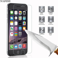 Buy 9H Tempered Glass Screen Protector For iPhone 6 6S 5S 7 8 SE 4S 5 5C XR XS Max 2.5D Toughened Glas For iPhone 7 6 6S Flim Glass directly from merchant!