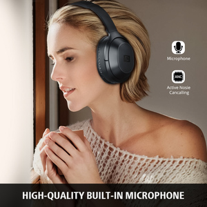 Image 5 - Langsdom BT25Pro Active Noise Canceling Headphones Wireless Bluetooth 38 Hours Play ANC Gaming Headset for PUBG Overwatch