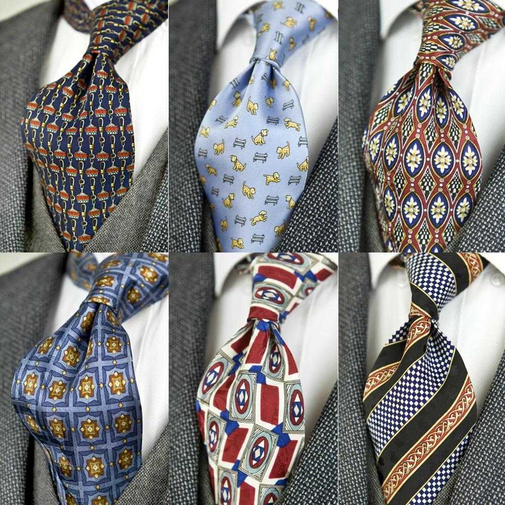 Suit Ties Fashion 3D Print Necktie Men Casual Gentleman Necktie
