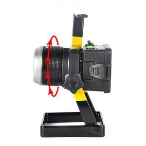 Image 3 - LED 투광 조명 원래 30W 1200 LM LED 홍수 램프 XM L T6 3 모드 캠핑/사냥에 대 한 충전식 LED 스포트 라이트 낚시 램프