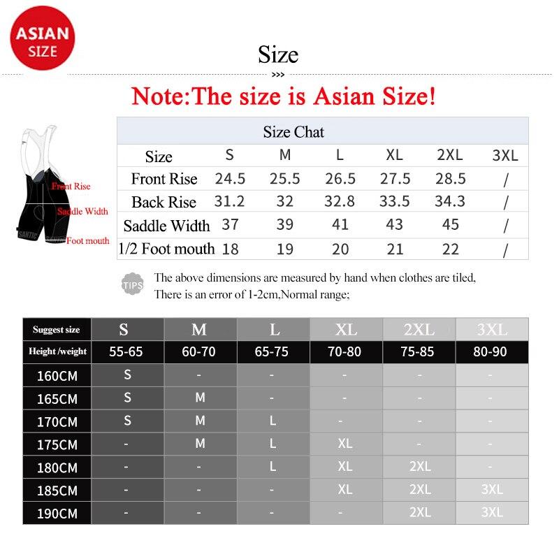 Santic Pro Cycling Shorts Men MTB Road Bike Shorts Italian Imported Fabric 4D Pad Bicycle Shorts Mesh Breathable Cycle Clothing